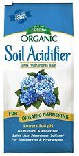 Organic Soil Acidifier Fertilizer Plants Gardening blueberries hydrangeas,30 lb