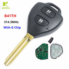 Replacement 2 Button 314.3MHz for Toyota Hilux / Yaris Remote Key G Type - B41TH