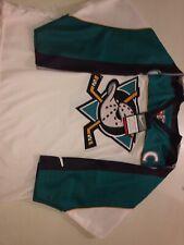 VNTG Anaheim Mighty Ducks Paul Kariya Authentic Nike Jersey Sz 48 NWT