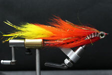 Hot Sunrise Big Game Changer Articulated Muskie, Pike, Big Bass fly