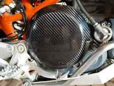 Clutch cover in carbon fibre ktm 690 great engine protector