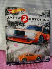MAZDA RX-3☆JAPAN HISTORICS 2☆orange;real riders;Greddy☆Hot Wheels CAR CULTURE