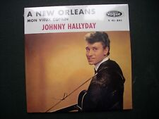 CD single Johnny Hallyday A NEW ORLEANS-MON VIEUX COPAIN-Vogue-Neuf