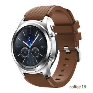 Silicone Sport Band Strap For 22mm Samsung Galaxy Watch 3 45mm 46mm Gear S3