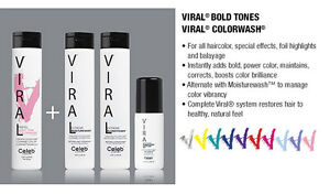 CELEB LUXURY COLOR VIRAL COLORWASH,OR COLORDITIONER, OR BONDFIX OR STYLER, UPIC