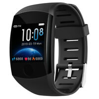 Smart Watch Men/Women Bracelet Big Screen Heart Rate Activity Tracker Wristband