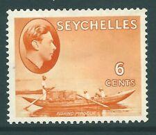 SEYCHELLES 1938 George VI mint 6c SG137