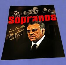 "Vincent Curatola Autographed 11x14 The Sopranos ""Johnny Sack"" Photo Mafia W/COA"