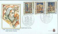 VATICAN CHRISTIANITY IN ARMENIA FDC 2001 R2021467