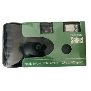 Exchange Select Flash Camera Disposable Ready To Use 27 Pictures 400 Speed Film