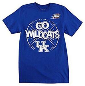 Adidas Youth Kentucky Wildcats 2015 Final Four NCAA T Shirt Royal Blue  S-XL
