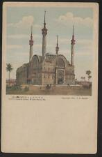 POSTCARD WILKES-BARRE PENNSYLVANIA PA  A.A.O.N.M.S IREM TEMPLE W SPIRES 1906