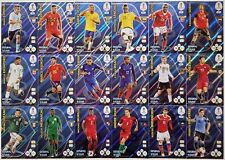 Panini Adrenalyn XL World Cup 2018 Russia/ alle RISING STAR (18 x), Nr.415 - 432