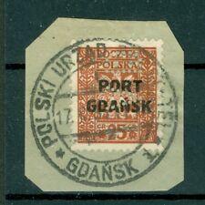 """Poland / Port Gdansk - Perfin """"Vd� (Wernaka) on Scott # 1K22"""