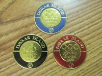 DAVAAR ISLAND OLYMPIC GAMES 1968 MEMORIAL GOLD FOILS
