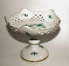 Meissen porcelain Reticulated serving dish. Dekor Indisch Blume. New