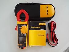 NEW Fluke F319 Digital Clamp Meter True-RMS 37mm Frequency 6000 Count w/Case