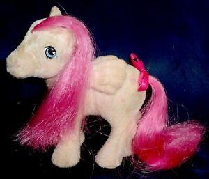 Rose: My Little Pony Vintage So Soft SS Pegasus Heart Throb GOOD/FAIR G1