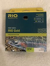Rio Gold Fly Line Floating Weight Forward Trout Melon/Gray Dun Wf5F New in Box!