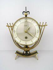 Vintage Art Deco Dutch ORFAC Mantel Shelf 8 day Mid Century Clock