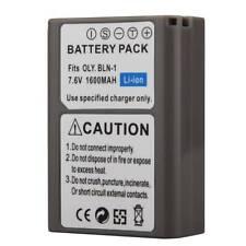 PS-BLN1 1600mAh Camera Battery Backup For Olympus EM5/E-M5/OM-D Digital Camera