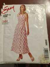 Easy Stitch & Save Pattern Misses Petite 18-24 Dress