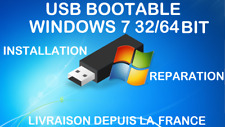 CLE USB BOOTABLE WINDOWS 7 32/64 BIT FR ALL VERSIONS