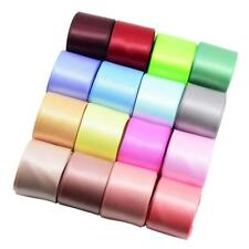 16x Double Side Satin Ribbons 1 Yard for DIY Hair Bow Gift Wrapping 40mm