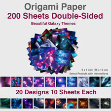 15*15cm Sheets Starry sky Sided Origami Paper Square Sheet For Crafts Projects