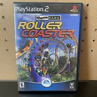 Theme Park Roller Coaster (Sony PlayStation 2, PS2, 2000) Complete with Manual