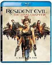 Blu Ray Resident Evil: The Final Chapter - (2018) ......NUOVO