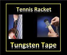 Tennis Racket Tungsten Tape composite  -Power-Balance-Weight with SAFE Tungsten