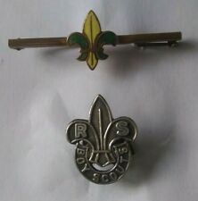 BOY SCOUTS.  ROVER SCOUT LAPEL BADGE  /  SCOUT TIE PIN