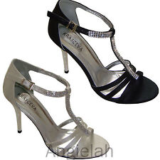 Unbranded Satin Strappy, Ankle Straps Shoes for Women