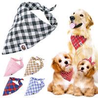 5 Stück Hundehalstuch Hundehalsband Bandana Hunde Katze Welpe Halstuch 5 Farben