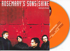 ROSEMARY'S SONS ft ILSE DELANGE - Shine CD SINGLE 2TR Dutch Cardsleeve 2002