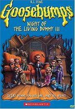 NEW Goosebumps - Night of the Living Dummy III (DVD)