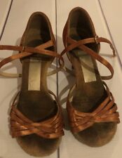 Adia Womens Latin Dance Shoe Size 21.5