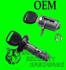 Buick Chevy GM Ignition Key Switch Lock Cylinder Tumbler & Single Door 2 Keys