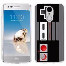For LG Aristo / Phoenix 3 /Fortune /LV3  TPU Gel Phone Case  -Game Controller