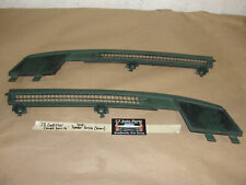OEM 73 Cadillac Coupe Deville DASH SPEAKER GRILL VENT TRIM COVER -  GREEN