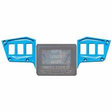 CNC Billet Custom Dash 6 Switch Panel 2 Piece GPS Polaris RZR 900 XC Voodoo Blue