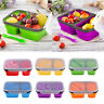 Collapsible Food Storage Containers Portable Silicone Bento Lunch Box Picnic