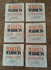 VTG Lot MARTIN MARQUIS Assorted Guitar Strings For 12 String Guitars