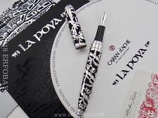CARAN D'ACHE La Poya Limited Edition Fountain Pen #746/2002 Year 2002 18k M Nib