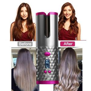 Wireless Auto Hair Curler