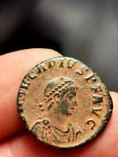 Arcadius, Maiorina Pecunia , Antioche 383-384 ( VIRTVS-EXERCITI / ANTS ) 4,24 g