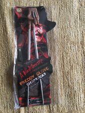 * NUOVO * Loot Crate esclusiva Freddy Glove bacchette Nightmare on Elm Street