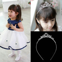 Hot Rhinestone Kid Tiara Hair Band Girl Bridal Princess Prom Crown Headband