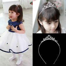 Hot Rhinestone Kid Tiara Hair Band Girl Bridal Princess Prom Crown Headband
